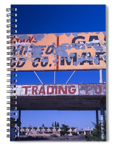 Old 66 Trading Post Spiral Notebook
