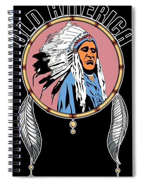 Old Amercia Spiral Notebook