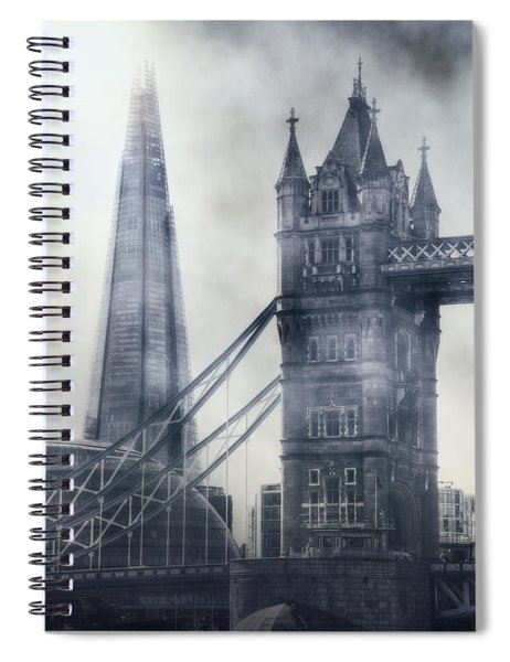 old and new London Spiral Notebook