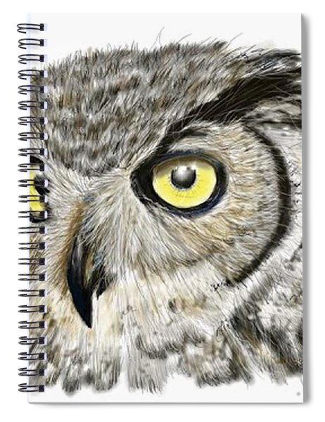 Old And Wise Spiral Notebook
