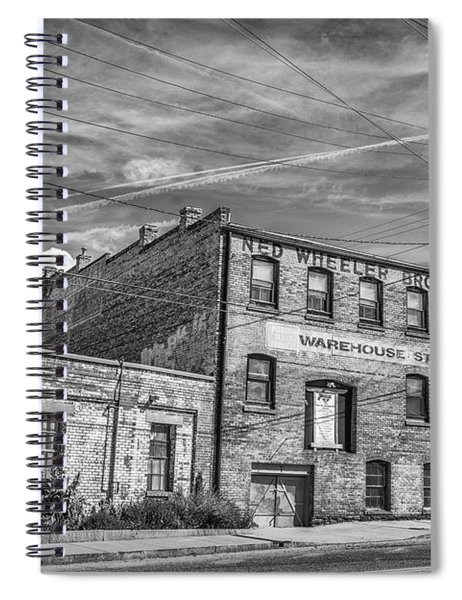 Old Asheville Building Spiral Notebook