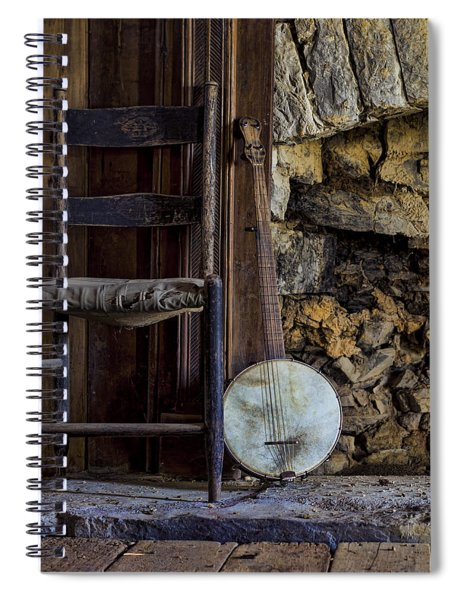 Old Banjo Spiral Notebook