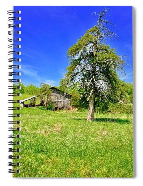 Old Barn, Smith Mountain Lake Spiral Notebook