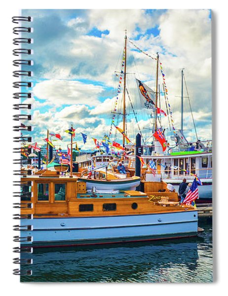 Old Boats Spiral Notebook