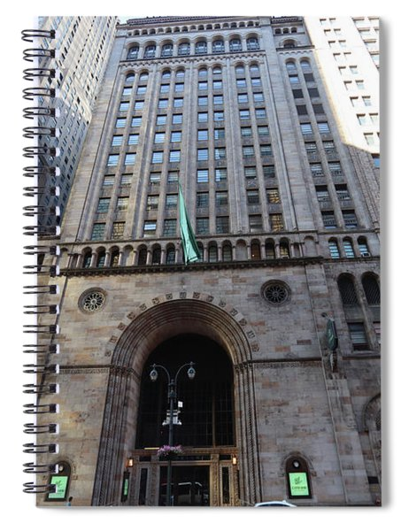 Old Bowery Savings Bank Spiral Notebook