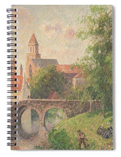 Old Bridge In Bruges  Spiral Notebook