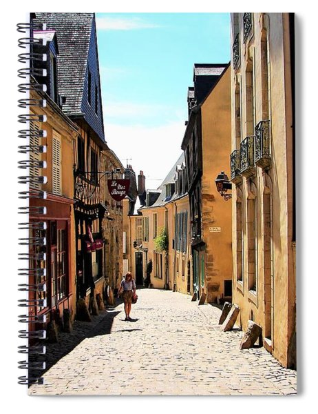 Old Buildings In France Spiral Notebook
