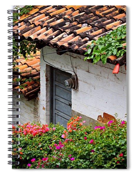 Old Buildings In Puerto Vallarta Mexico Spiral Notebook