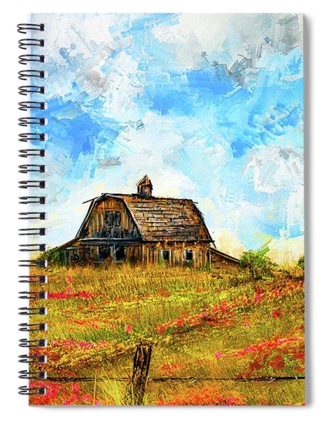 Old But Stately -old Barn Artwork Spiral Notebook
