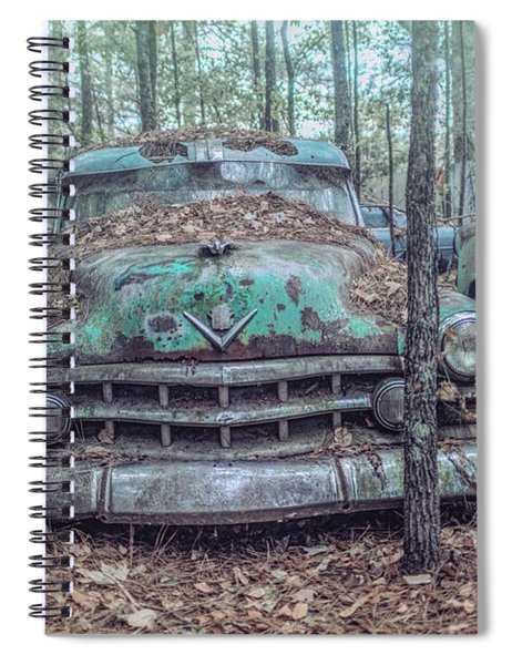 Old Caddy Spiral Notebook