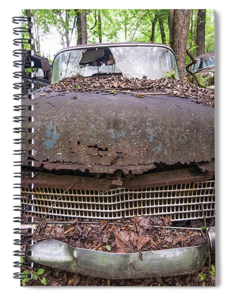 Old Car City In Color Spiral Notebook