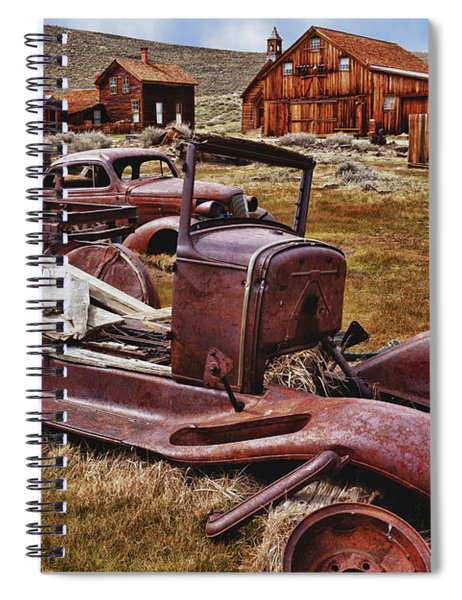 Old Cars Bodie Spiral Notebook