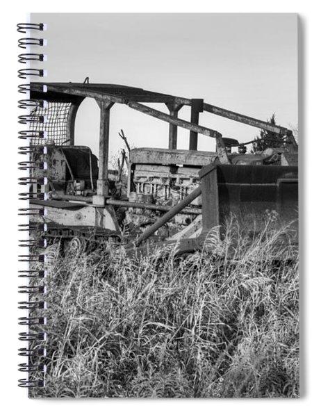 Old Cat II Spiral Notebook