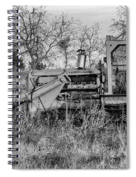 Old Cat IIi Spiral Notebook