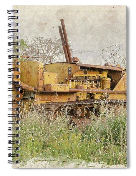 Old Cat Watercolor II Spiral Notebook