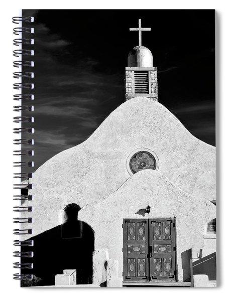 Old Catholic Church, San Ysidro, New Mexico Spiral Notebook
