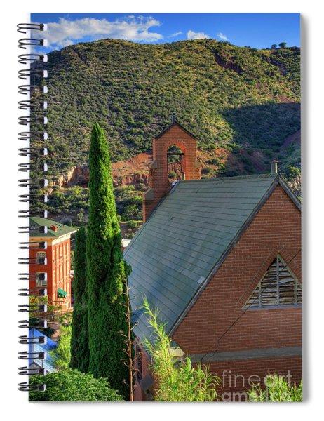 Old Church In Bisbee Spiral Notebook