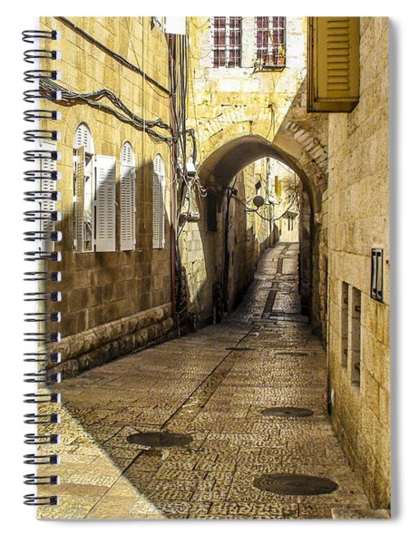 Shabbat Day Of Rest Jerusalem Israel Spiral Notebook