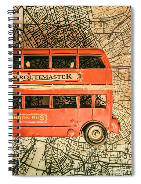 Old City Transit Spiral Notebook