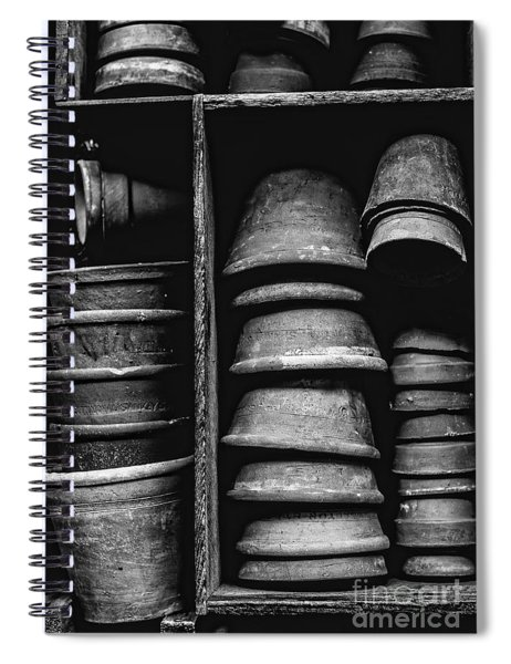 Old Clay Pots Spiral Notebook