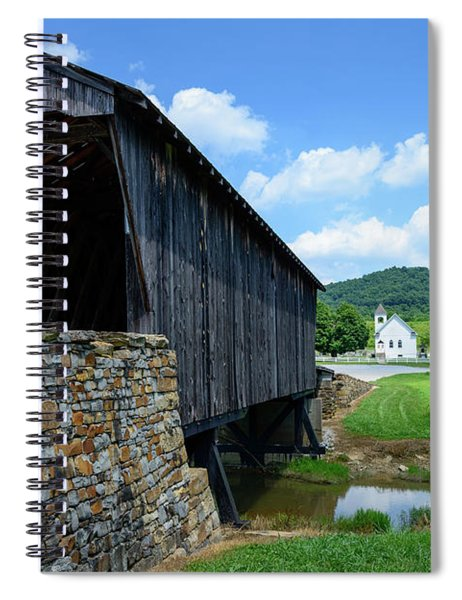 Old Country Road Spiral Notebook