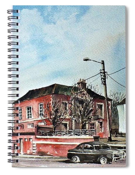 F  733 Wicklow  Old Courthouse Bray Spiral Notebook