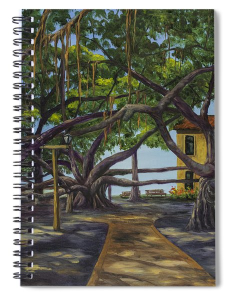 Old Courthouse Maui Spiral Notebook