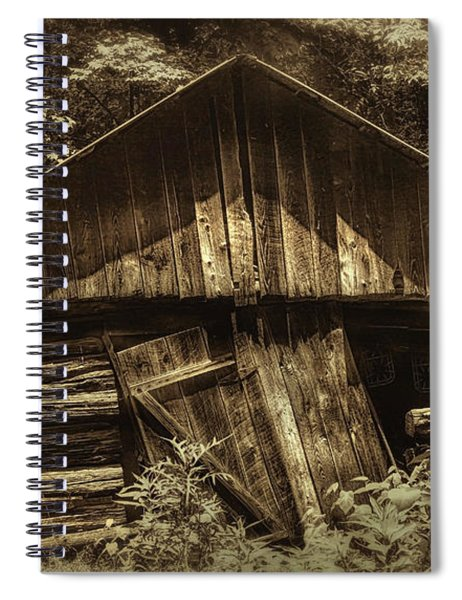 Old Days Gone By Spiral Notebook