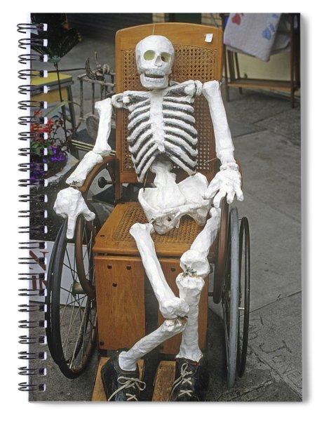 Old Deadheads Never Die Spiral Notebook