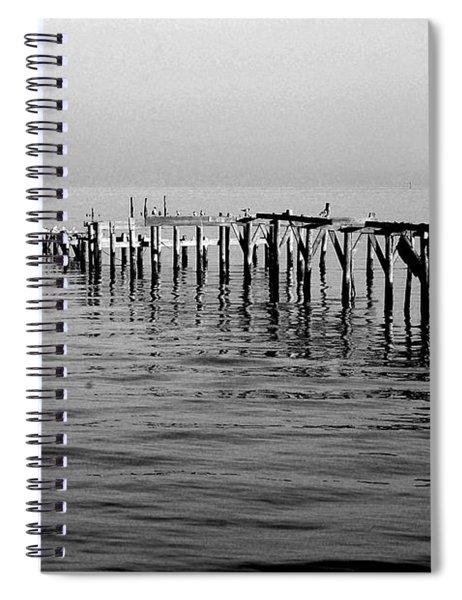 Old Dock  Spiral Notebook