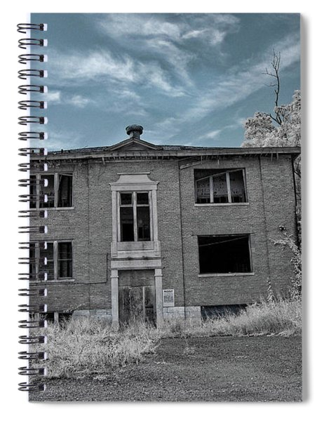 Old Edmonton High School Ir 2 Spiral Notebook