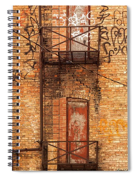 Old Escape Spiral Notebook