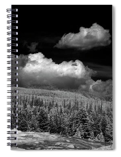 Old Faithful Ir  Spiral Notebook