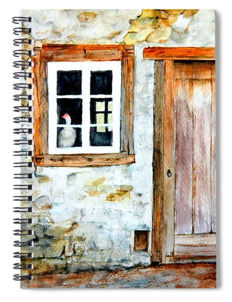 Old Farm House Spiral Notebook