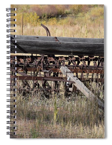 Farm Implament Westcliffe Co Spiral Notebook