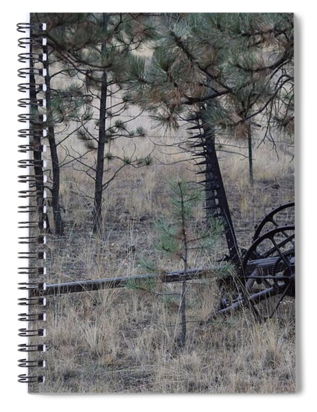 Old Farm Implement Lake George Co Spiral Notebook