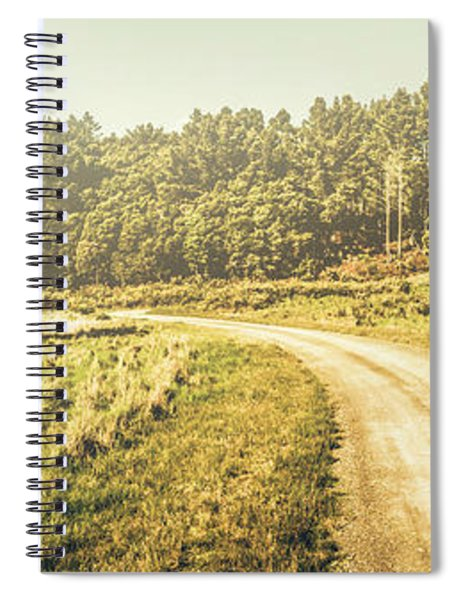 Old-fashioned Country Lane Spiral Notebook