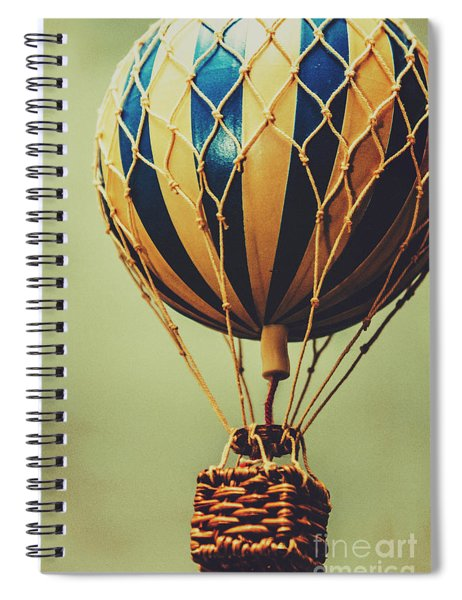 Old-fashioned Exploration Spiral Notebook