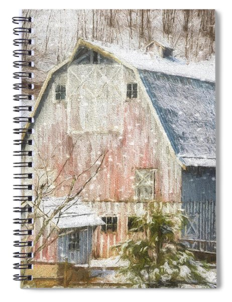 Old Fashioned Values - Country Art Spiral Notebook