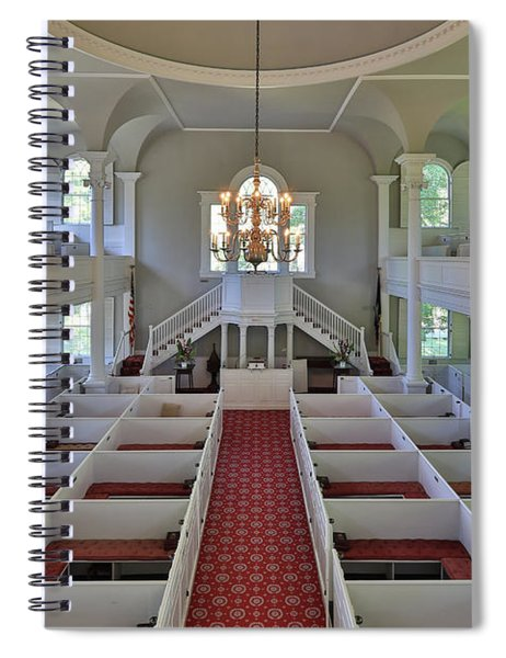 Old First Church Box Pews Spiral Notebook