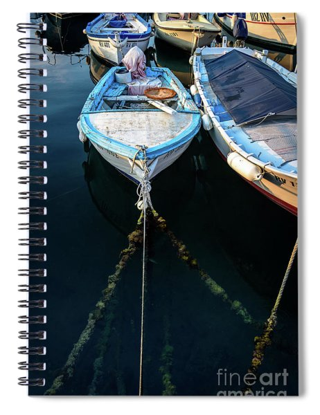 Old Fishing Boats Of The Adriatic Spiral Notebook