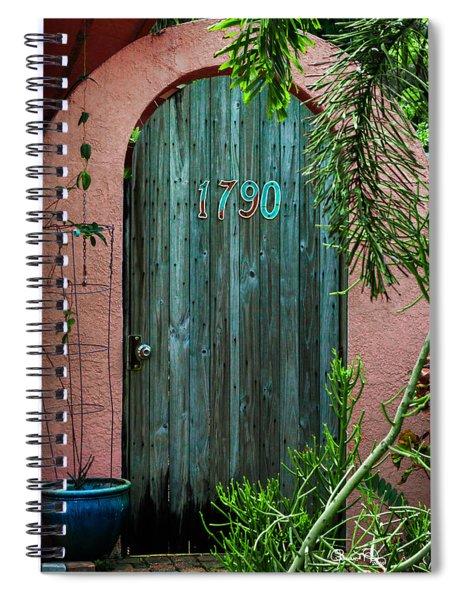 Old Florida 7 Spiral Notebook