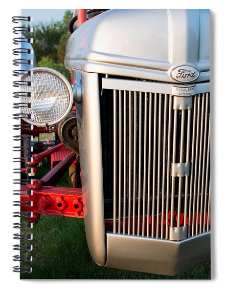 Ford Tractor 9n Tractor Front Spiral Notebook