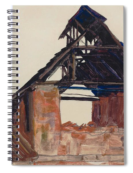 Old Gable Spiral Notebook