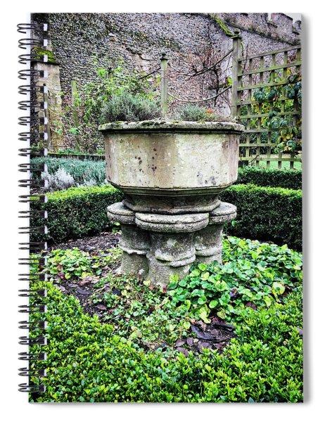 Old Garden Stone Trough Spiral Notebook
