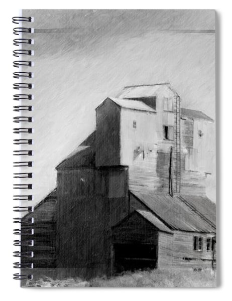 Old Grain Elevator Spiral Notebook