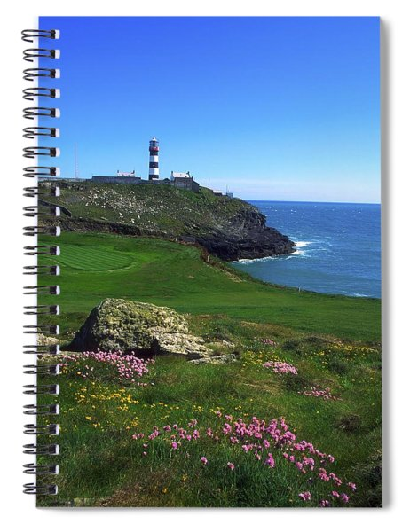 Old Head Of Kinsale Lighthouse Spiral Notebook