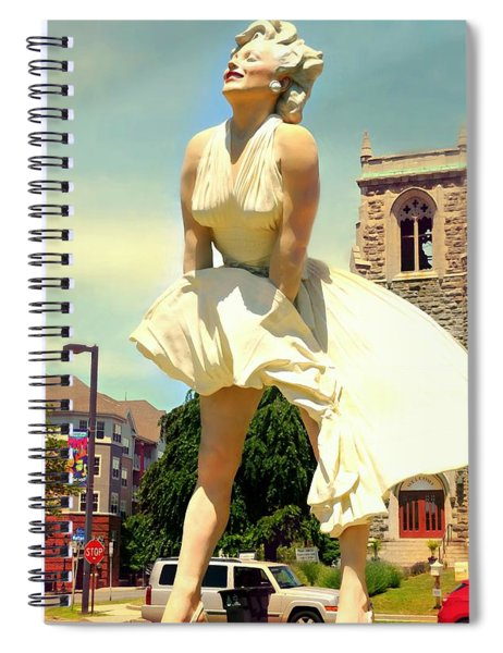 Old Hollywood  Spiral Notebook