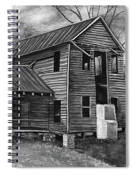 Old House  Spiral Notebook