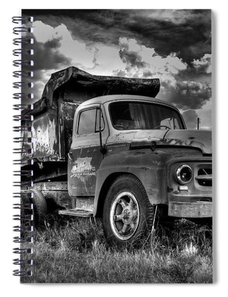 Old International #2 - Bw Spiral Notebook